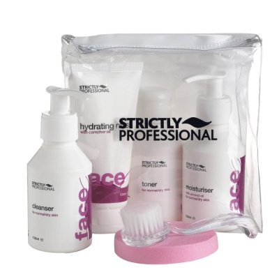 Facial care kit for dry / mature skin with collagen