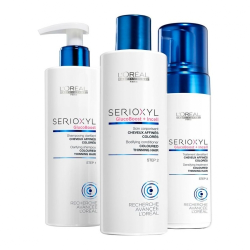 Serioxyl Anti-Thinning Program for Coloured, Thinning Hair